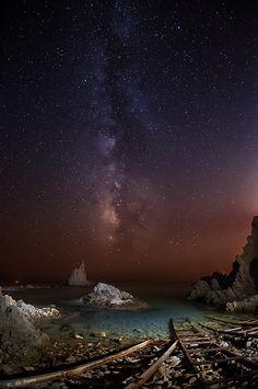Arrecife de las Sirenas, Cabo de Gata. Almería | by Edu de Juan, via 500px