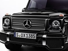 G Class W463 AMG Style Grill(Gloss Black color)