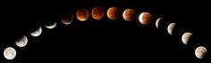 Rare supermoon eclipse seen around the world