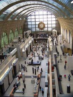 Musee d'Orsay -- one of my favorite places in my favorite city