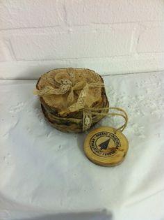 www.mekado.nl special gifts.   Wooden coasters