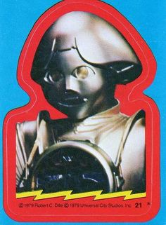 Buck Rogers in the 25th Century Topps Trading Card Sticker #21