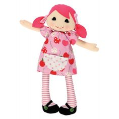 Tiger Tribe Rag Doll - Poppy