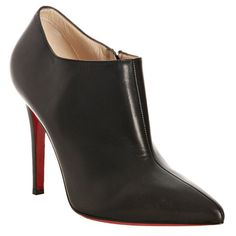 Christian Louboutin Dahlia 100mm Ankle Boots Black CZY #SexyStyle
