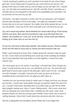 James and Lily - The Wedding part 6