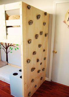 klimmuur - Climbing in your room!