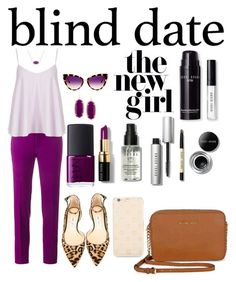 """""""Blind Date"""" by e-atha on Polyvore featuring Roland Mouret, Topshop, Jimmy Choo, Michael Kors, Kendra Scott, NARS Cosmetics, Bobbi Brown Cosmetics, Dita and Kate Spade"""
