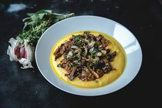 vegan mushroom ragout recipe - This sumptuous and comforting wild mushroom ragout not only tastes wonderful, it's also packed with wholesome ingredients that are perfect for when you're feeling under the weather. Wild Mushrooms, Stuffed Mushrooms, Stuffed Peppers, Cereal Recipes, Veg Recipes, Mushroom Ragout Recipe, Vegan Dishes, Vegan Food, Mushroom Benefits