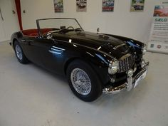 *SOLD* 1959 Austin-Healey 100-6 BN4  Absolute gorgeous Austin-Healey 100-6 BN4 in outstanding condition. The car has the very desirable 2+2 seating configuration. The car starts, drives and stops as is should and without any issues. Truly a car that can be enjoyed for many years to come.     Car Specification:  VIN/Chassis number: 5007 9987  Odometer: 0568 miles  Engine: 2639 cc C-Series I6  Transmission: Manual  Car number: BN41 0/ 74250  Engine number: 26 D/R U/H 75978  - K246 Austin Healey, Cars For Sale, Classic Cars, Automobile, Vehicles, Engine, Manual, Number, Autos