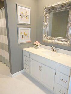 DIY Bathroom Mirror Frame For Under Bathroom Mirrors And Kid - How to renovate a bathroom diy