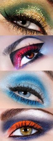 More Cris Alex makeup. my obsession with eyes continues! Try a fun creative shadow!