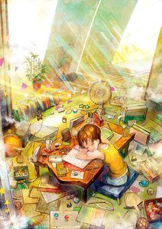 messy anime manga arte drawings deku boy reader yandere otaku pixiv tags reddit villain visitar dark report dibujos comment