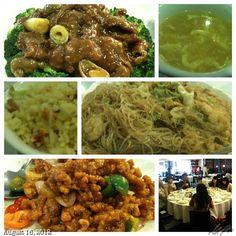 6日目 2012.8.16 Day6 かみさんの両親と皆でランチ! #dimsum #chinese #food #lunch #family #philippines #フィリピン #旅行