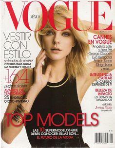 Jessica Stam Cover Vogue Mexico