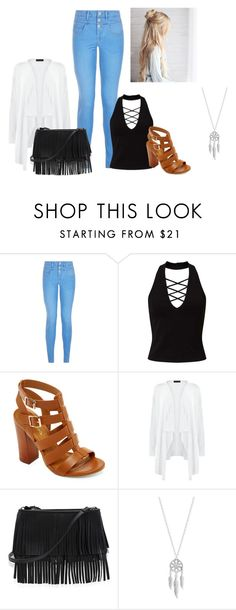 """Summer 16"" by whoiskkathyy on Polyvore featuring New Look, Miss Selfridge, Bamboo, White House Black Market and Lucky Brand"