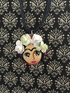 A personal favorite from my Etsy shop https://www.etsy.com/listing/257972917/latina-frida-kahlo-jewelry