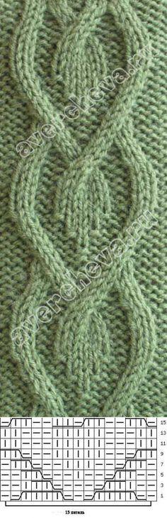Crochet diamonds in diamond pattern   knitting pattern with needles directory