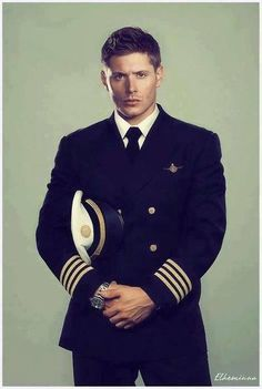 Omg! In a military uniform!! Merry Christmas to me!