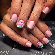 Drawings on nails, Evening dress nails, Festive nails, flower nail art, French… http://miascollection.ml