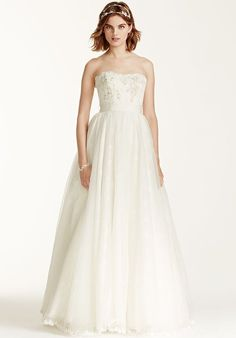 Melissa Sweet for David's Bridal Melissa Sweet for David's Bridal Style MS251072 Wedding Dress - The Knot