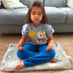 Mindful meditation (for anxious children--or anyone)