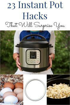 It's true the new pressure cooker is cool, but here are some even cooler Instant Pot hacks that might actually surprise you. (Popcorn, apple sauce, reheating, dog food and more) Pressure Cooking Recipes, Crock Pot Cooking, Crockpot Recipes, Cooking Tips, Cooking Steak, Power Cooker Recipes, Multi Cooker Recipes, Cooking Turkey, Thai Recipes