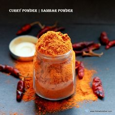 Homemade Curry Powder Recipe #Curry powder made in bulk good for use up to one year , #followfoodiee #Sambar #Curry #Homemade #Indian #Recipe #Vegan