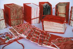 Green Altar books W500 opt by joannebk (Joanne B Kaar), via Flickr