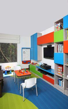 Tendencias 2019 en cuartos de juegos infantiles - Children\'s Spaces ...
