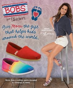 Happy Mother's Day to all the moms out there including SKECHERS ambassador and mom of four, Brooke Burke-Charvet!