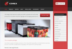 Corex: Web design and development