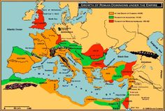 Unit 5 - The Roman Republic and Empire The Roman Republic (above) from 500 BC to the death of Julius Caesar 44 BC The Roman Empire (below) from death of Julius Caesar BC) to death of Marcus Aurelius AD) The Roman Empire from death of Julius Ca Middle School History, Church History, History Class, Ancient Rome, Ancient History, Ancient Map, Roman Empire Map, Bible Mapping, Roman Republic