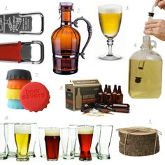 Beer Accessories-- There has to be a birthday present in one of these items.