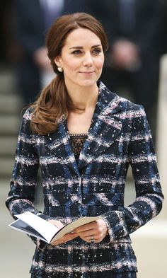 Prince William bends it like Beckham, Kate Middleton lets her hair down: Best photos from their Manchester visit - HELLO! US