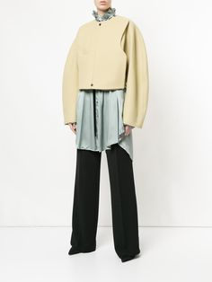 You'll find a great selection of designer cropped jackets at Farfetch. Search from over 2000 designers for the perfect designer cropped jacket Christophe Lemaire, Designing Women, Luxury, Pants, Jackets, Collection, Shopping, Fashion, Trouser Pants