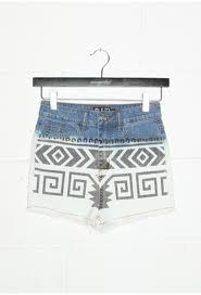 #ONLYDenimStyle  aztec printed denims @only India by @Vidhi Kasat Bahl