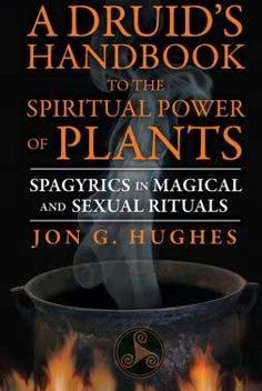 In Druid's Handbook to the Spiritual Power of Plants, Jon G. Hughes reveals the gentle alchemy of converting plant essences into potent compounds for working sex magic rituals. Magick Book, Witchcraft Books, Occult Books, Grimoire Book, Green Witchcraft, Magick Spells, Destiny Book, Plant Magic, Reunification