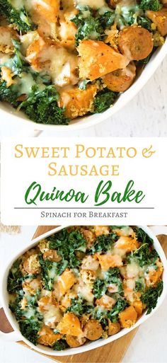 A delicious, healthy and easy one dish meal for lunch or dinner! Filled with proteins and greens.
