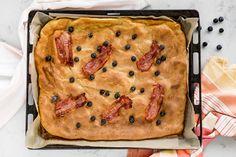 Pannekaker bakt i ovnen smaker minst like godt som vanlige pannekaker og er superenkelt å lage. Oppskriften finner du her.