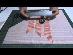 ▶ Fazendo Viés com Sulfite! Fácil, fácil - YouTube
