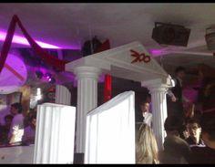 Allestimento discoteca 300 #discoteca #discoteche #scenografiadiscoteca