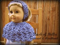 createbellacreate: American Girl Head warmer/ Ear Warmer Crochet Patt...
