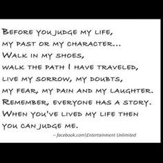 Quotes About Judging Others | Inspiration, Life, Quotes, Sotrue, Judges People, Don'T Judges Me ...