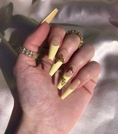 Cute Acrylic Nail Designs, Best Acrylic Nails, Summer Acrylic Nails, Nails Now, Aycrlic Nails, Swag Nails, Uñas Kylie Jenner, Glamour Nails, Nagel Blog