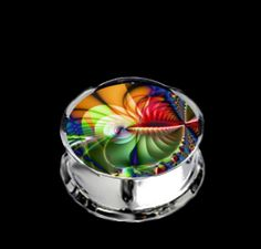 Pair Stainless Steel So Beautiful Plugs for Stretched Ears - Pick Your Size, Custom Made