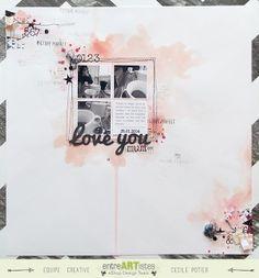 Love you mum - Scrapbooking & Loisirs créatifs - EntreARTistes 100% Scrapbooking ! @{entreARTistes} #entreartistes