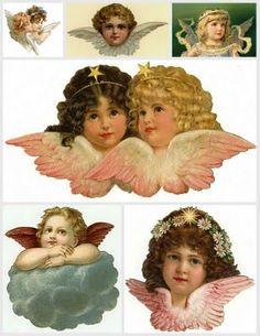 Angel graphics.