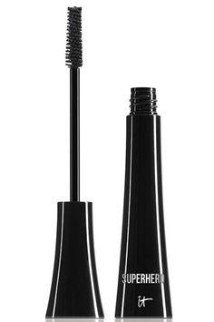 21 mascaras for longer lashes: IT Cosmetics Superhero Elastic Stretch Volume Mascara Beauty Make Up, Diy Beauty, Beauty Hacks, Beauty Tips, Beauty Ideas, Makeup Needs, Love Makeup, Makeup Stuff, Mascaras