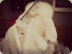 Bridal faux fur shrugs, jackets and stoles by Blanche in the Brambles