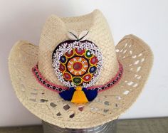 boho hat gypset straw